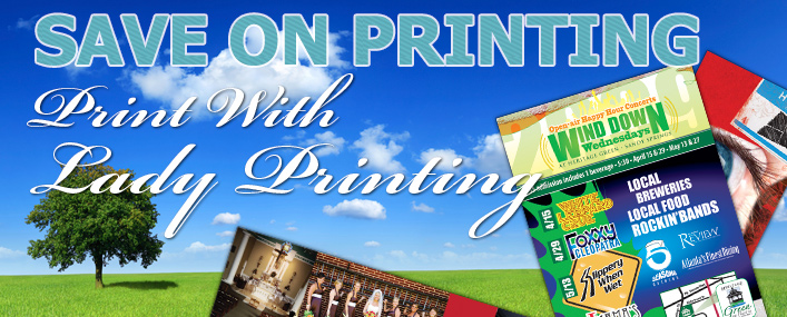 Lady Printing Promotion